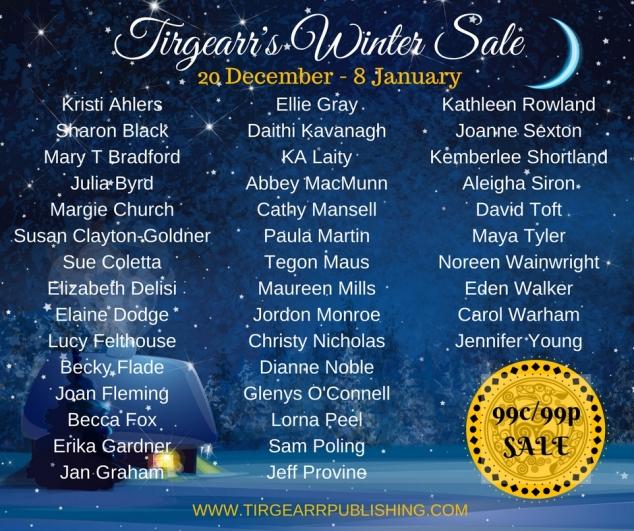 Tirrgearr's Winter Sale
